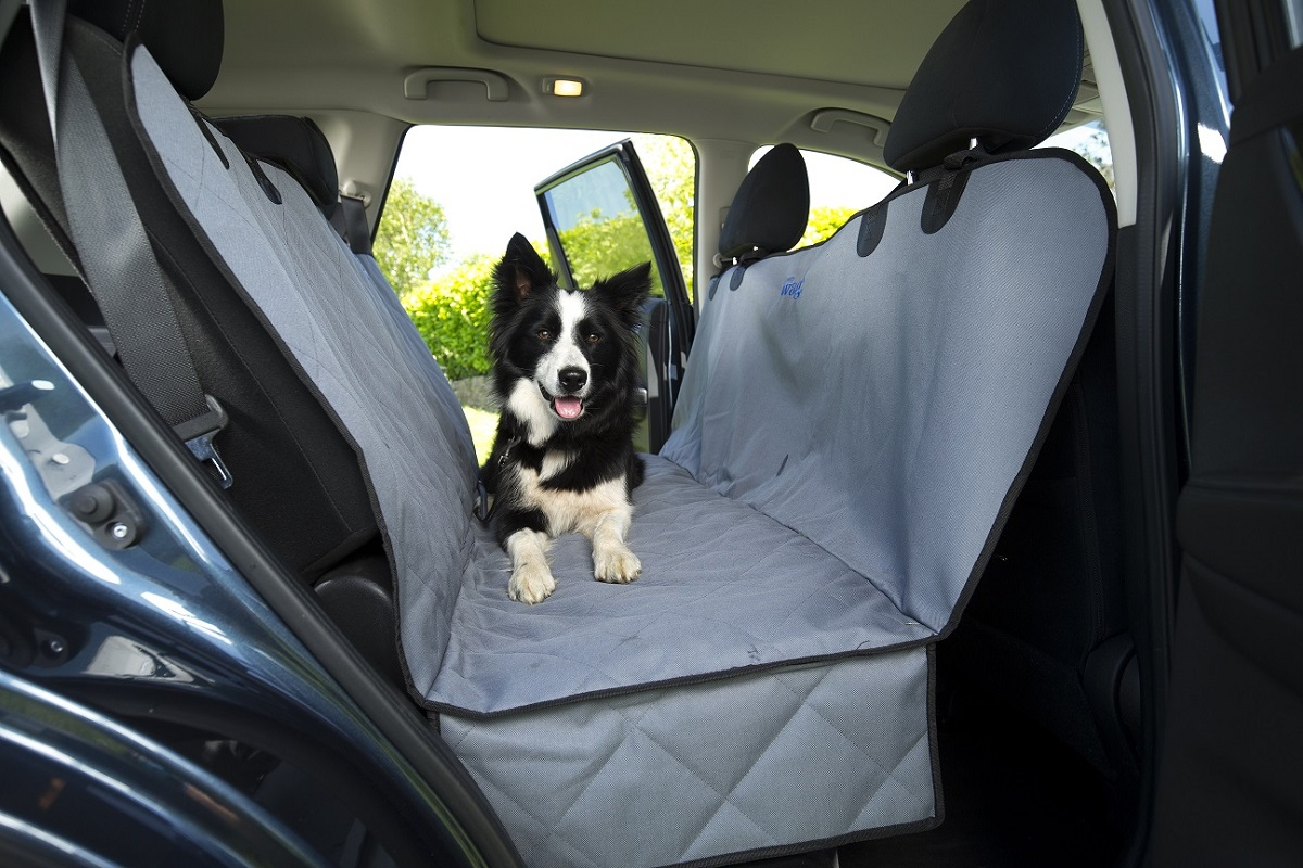 hammock cover pet car zipper seat dog products black main roro